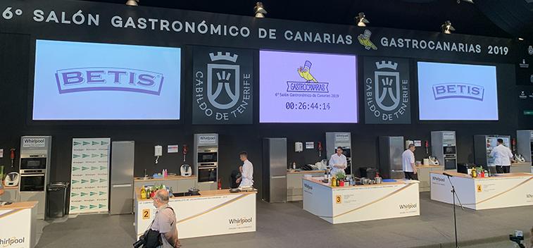 Aceite Betis es el aceite oficial del 15º Campeonato de Canarias Absoluto de Cocina