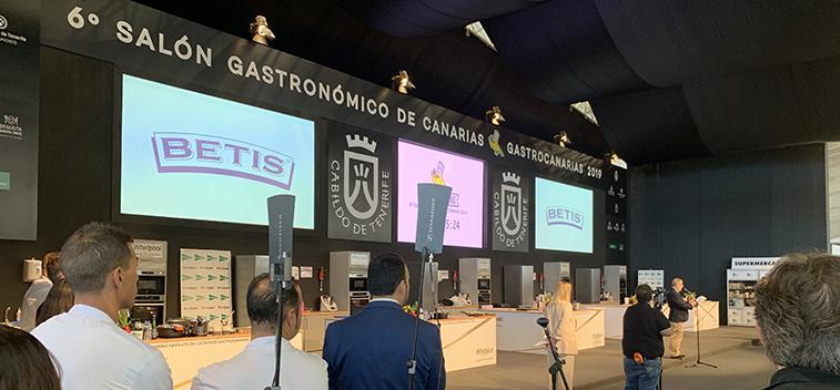 """Aceite Betis es el aceite oficial del 6º Campeonato de Canarias de Jóvenes Cocineros """"La Cocina en Verde"""""""