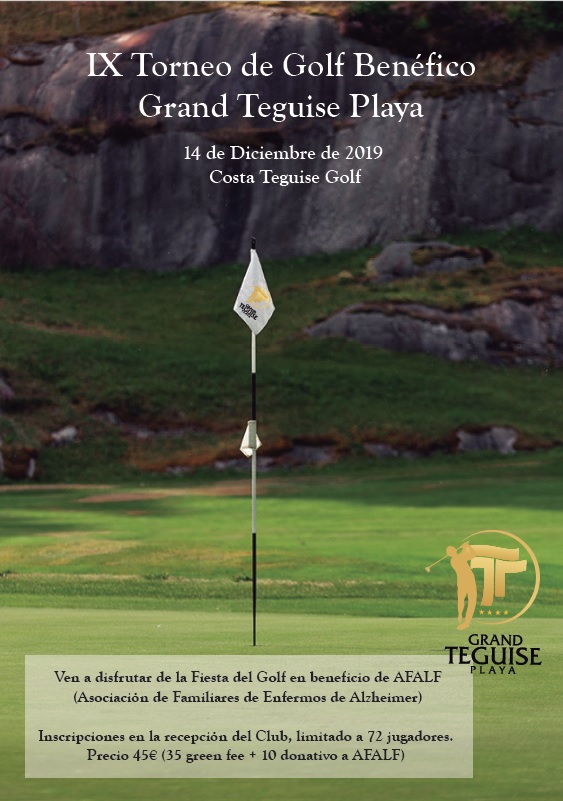 IX Trofeo Grand Teguise Playa Final Lanzarote Golf Tour AESGOLF