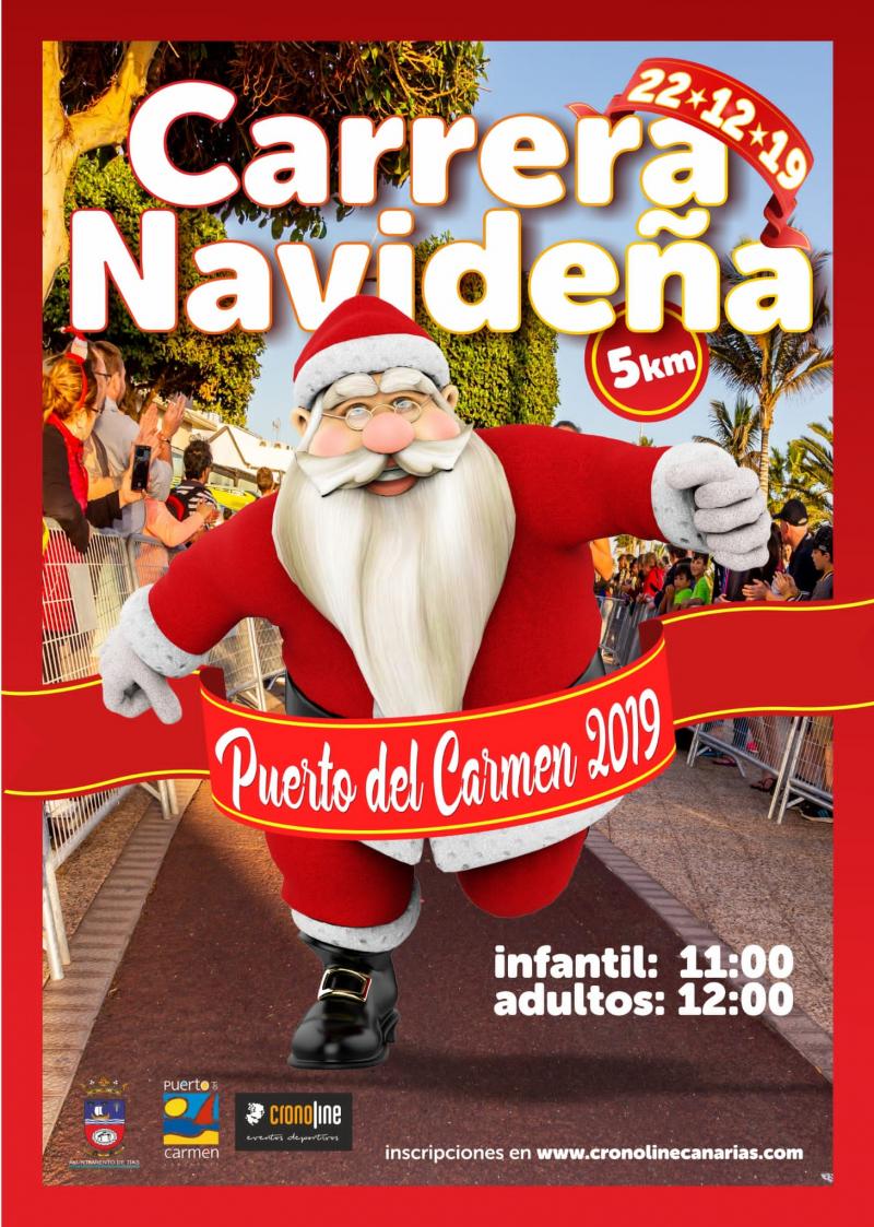 Carrera Navideña Puerto del Carmen 2019
