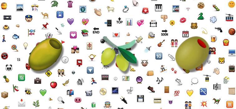 Olive Emoji: Finalmente la aceituna tendrá su propio emoticono