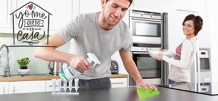 Medidas de seguridad e higiene en la cocina frente al coronavirus