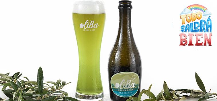 OLIBA Green Beer, la primera cerveza verde de aceituna del mundo