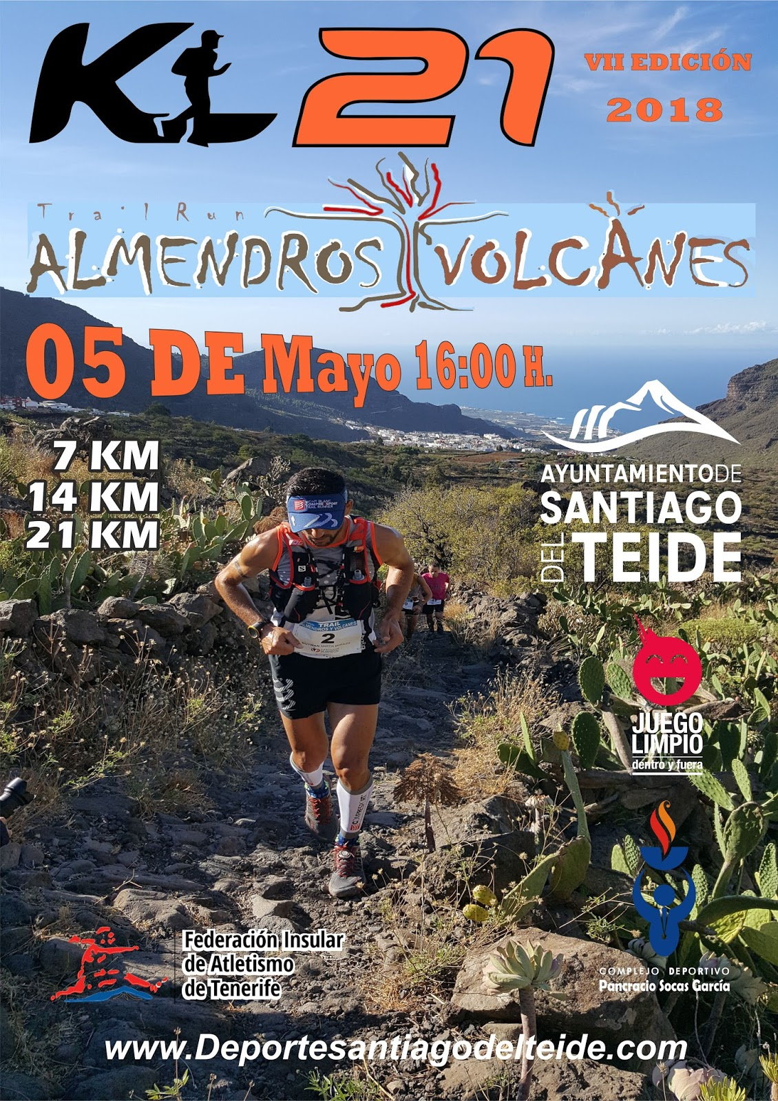 VII TRAIL ALMENDROS Y VOLCANES