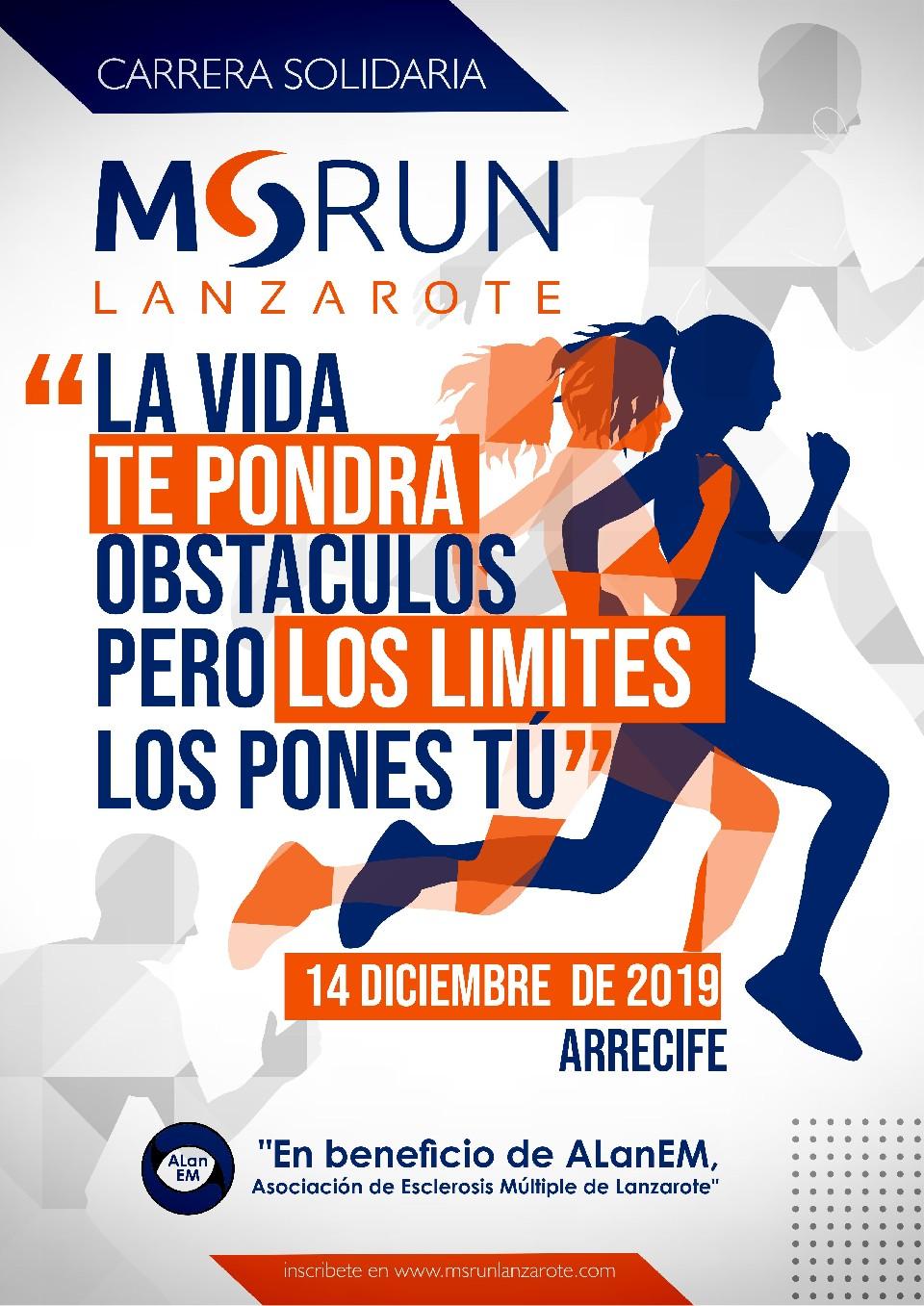 MSRun Lanzarote, la carrera en favor de las personas con Esclerosis Múltiple