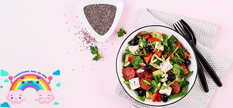 The Mediterranean Diet could reduce the risk of getting sick from COVID-19