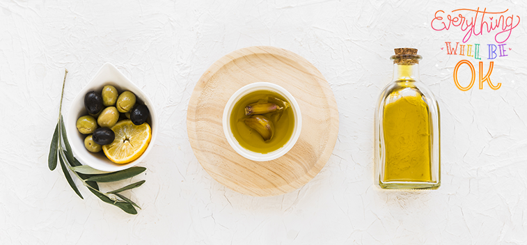 Olive oil stands as the healthy alternative to the consumption of trans fats